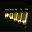 Set-50pcs-Fishing-Sinker-Weight-Bullet-Shape-Copper-Gold-Tackle-Sinkers-1-8-10g thumbnail 1