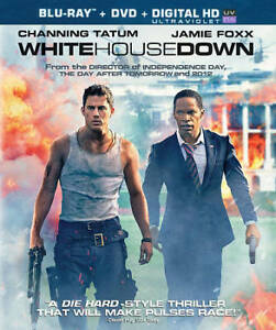 White House Down Blu Ray Dvd 2013 2 Disc Set Includes Digital Copy Ultraviolet