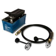 Temco Air Hydraulic Pump Power Pack Unit 10000 Psi 103 In3 Cap 5 Year Warranty