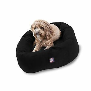 Groovy Majestic Pet Suede Dog Bed Products Black Velvet 32 Inch Creativecarmelina Interior Chair Design Creativecarmelinacom