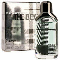 Burberry Perfume The Beat Eau De Toilette Mini Men's Cologne Parfum 0.15oz 4.5ml