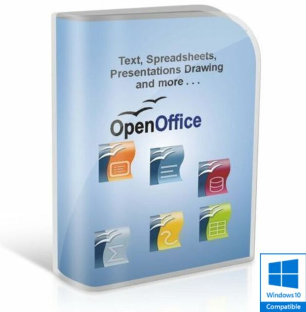 Open OFFICE 2018 PRO Edition Word Processor Microsoft Windows (Digital Download)