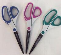 Scotch 3m Precision Ultra Edge 8 Scissors For Paper Fabric Blue Pink Teal