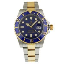 Certified Rolex Submariner Auto Steel Mens Watch 116613