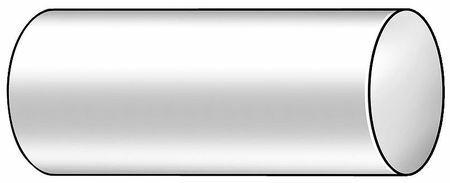 POLYMERSHAPES 1UPG1 Rod,Nylon,White,2 In Dia x 1 Ft L