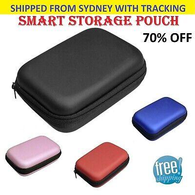 Waterproof Portable Hard Case Box Headset Earphone Earbud Storage Pouch Case Bag