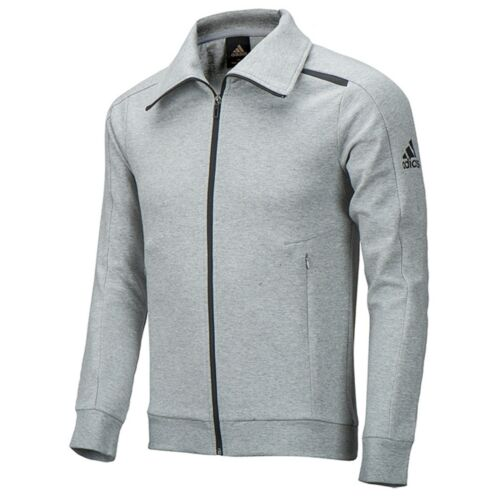 AY3732 BG9051 Adidas Men Knit Extend Jacket Sports Athlete Top Fitness BG9050
