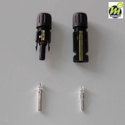 Buchse Online Shop Stecker 10 Paar Sets Silverline Solarstecker Mc 4 Komp.für 2,5-6,0 Mm²