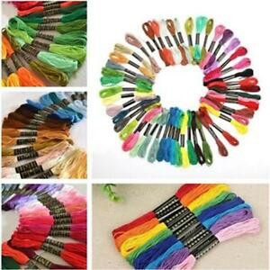 50pcs-Cotton-Cross-Floss-Stitch-Thread-Embroidery-Sewing-Skeins-Multi-Colors-WT