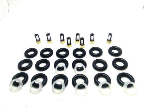 ORING KIT REPAIR REBUILD SERVICE  Bosch 0280155861  Fuel Injector FILTERS CAPS