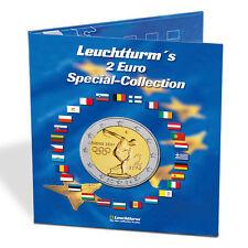 [#1039] Album, Bleu, Presso, Euro-Collection, 2 Euro, Leuchtturm:302574