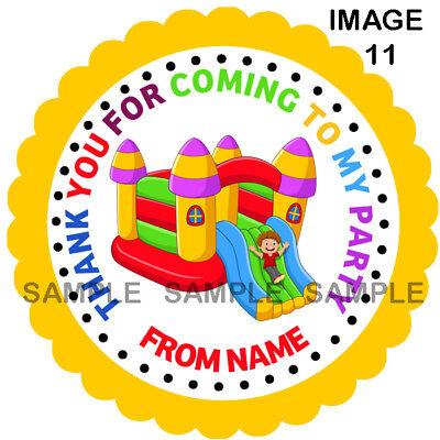 3 tamaños-Ref 17-11 Pegatinas de fiesta personalizado para conos De Dulces Etc