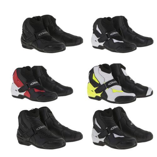 Pick Size//Color 2019 Mens Alpinestars S-MX 1R Street bike Motorcycle Boots
