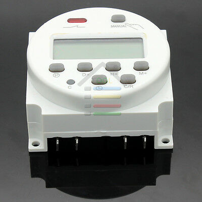 Programmable Time Switch AC 220V-240V Digital LCD Power Contrivable Timer Clock