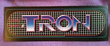 Tron arcade marquee sticker. (Buy any 3 of my stickers, GET ONE FREE!)