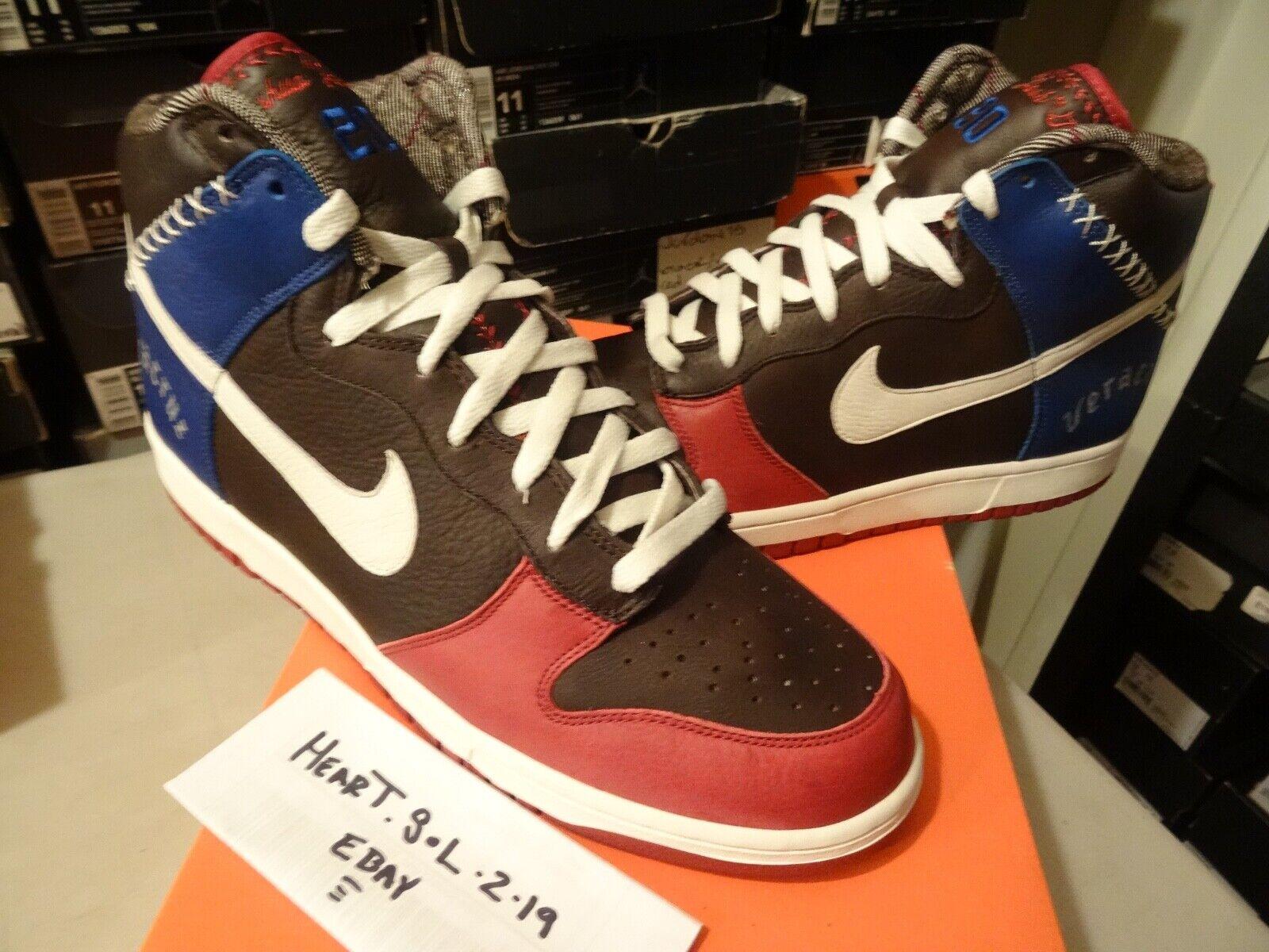 2006 Nike Dunk SB High Premium UTT  Latin Legacy  Untold Truth 313462 611 SZ 13