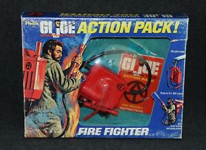 Gi Joe 1964 1971 à # 7351 Moc Action Pack Pompier Pompier