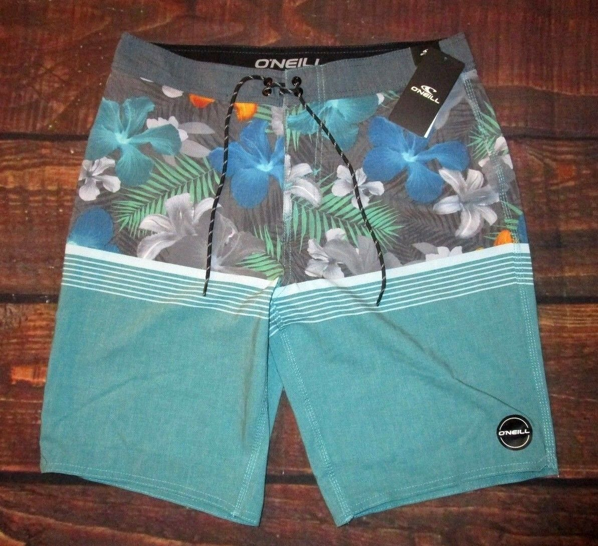 MENS O'NEILL FLORAL TROPICAL BOARD SHORTS SIZE 31