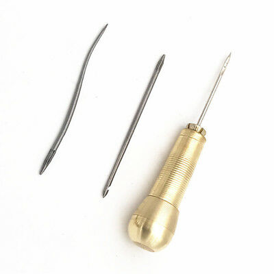 4pcs//set Copper Sewing Shoes Leather Craft Repair Stitch Hook Needle Tools Nice