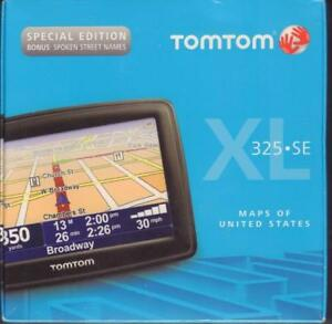 NEW* TOM TOM XL 325 SE CAR GPS SPECIAL EDITION LIFETIME MAPS SEALED