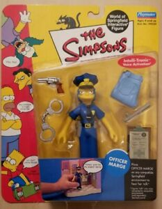 OFFICER-MARGE-The-Simpsons-WOS-Series-7-Intelli-Tronic-Figure-Playmates-2001