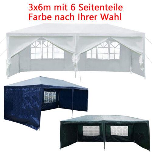 Weiß Blau Grün Pavillon Pavillion Gartenzelt Partyzelt WASSERDICHT DE