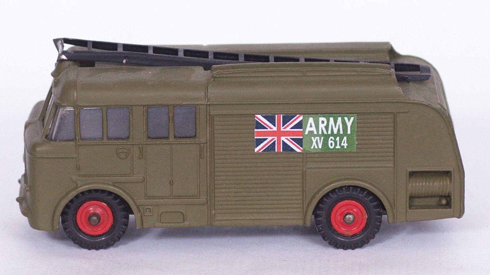 descuento de ventas en línea Dinky Juguetes    Army  Fire Engine  embalaje original  1 43  código 3  única  venta directa de fábrica