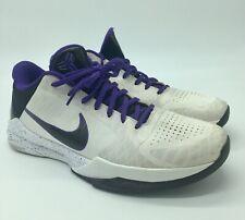 new styles fd571 cf72d item 2 2010 Nike Zoom Kobe V 5 Inline Sz 10 White Black Purple Del Sol  386429-101 -2010 Nike Zoom Kobe V 5 Inline Sz 10 White Black Purple Del Sol  386429- ...