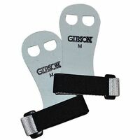 Gibson Rainbow Gymnastics Palm Hand Grips White/black Medium Free Ship