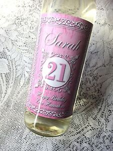 Personalizada-Shabby-Chic-Design-2-Cumpleanos-vino-Label-18-21-30-40