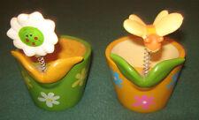 """Vaso/Portavaso/Vasetto """" GICOS """" Ceramica/Made In China/Pz.2"""