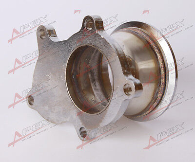 """T3 T3/T4 5 Bolt Turbo Downpipe Flange To 3"""" V Band Conversion Adaptor"""
