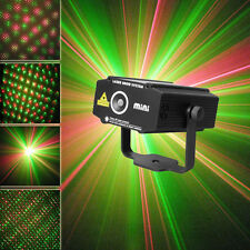 SUNY Mini Hot Red Green Laser Light Projector DJ Party Show Stage Xmas Home P100