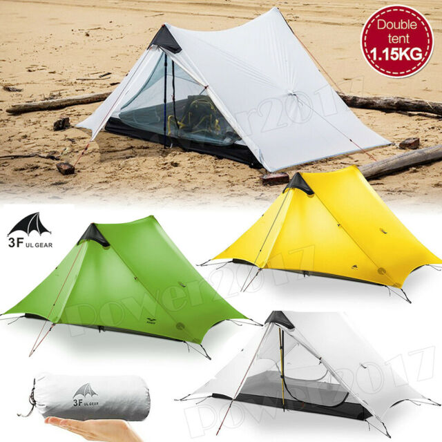 buy online f70ea 4e4b4 3F UL GEAR 1 2 Person Man Outdoor Ultralight Camping Tent 3 Season  Backpacking
