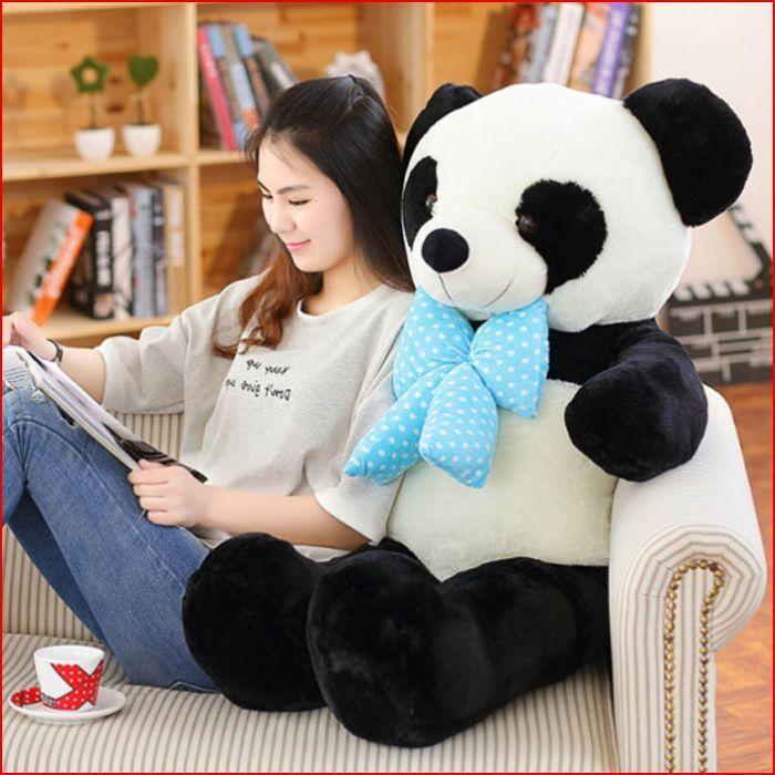 Riesige hingen große panda teddybär ausgestopfte tiere weichen stofftieren puppe weihnachts - geschenk