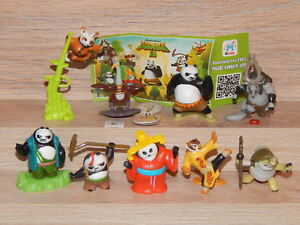 KINDER-SURPRISE-FERRERO-SET-KUNG-FU-PANDA-DISNEY-DREAMWORKS-CAKE-TOPPERS-PAPERS