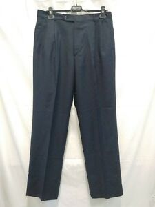 pantalone-uomo-Burberrys-84-lana-16-seta-taglia-50