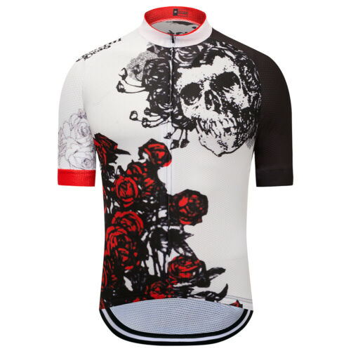 WEIMOSTAR Men Cycling Jersey Team Bike Clothing Short Sleeve Bicycle T-Shirt Top