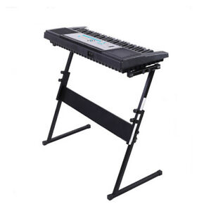 New-Pro-Audio-Fold-Adjustable-Z-Style-Keyboard-Electric-Piano-Stand