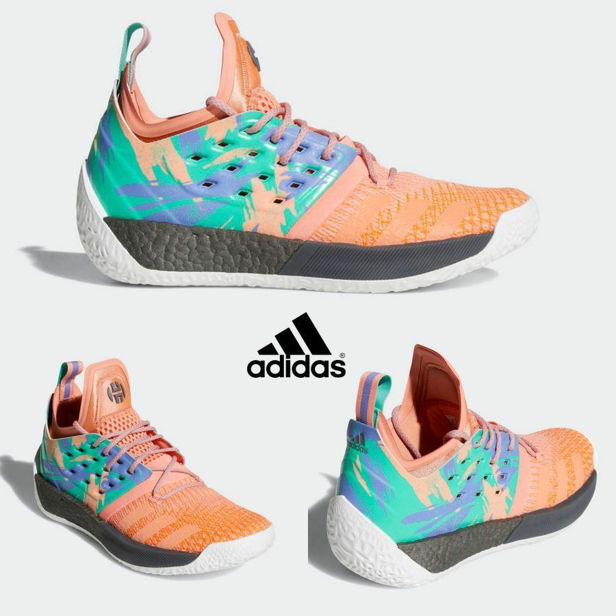 Adidas HARDEN VOL.2 Basketball Shoes Athletic Sneakers Running AH2219 Price reduction