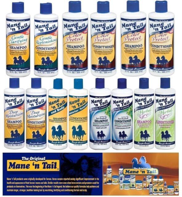 Mane N Tail Original, tief, pflanzliche, Anti-dandraff Shampoo & Conditioner-Combo Pack