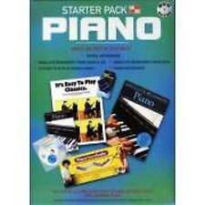 STARTER PACK PIANO ABSOLUTE BEGINNERS - BOOK, CD, DVD, DIGITAL METRONOME