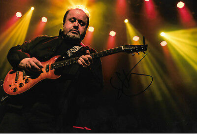 "Autographs-original Fast Deliver Steve Rothery ""marillion"" Signed 8x12 Inch Photo Autograph"