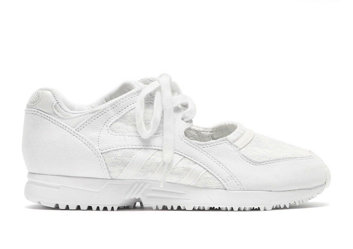 Wo Hommes Adidas Originals EQT Racing 91 BA7556 blanc  Ladies Textile Trainers