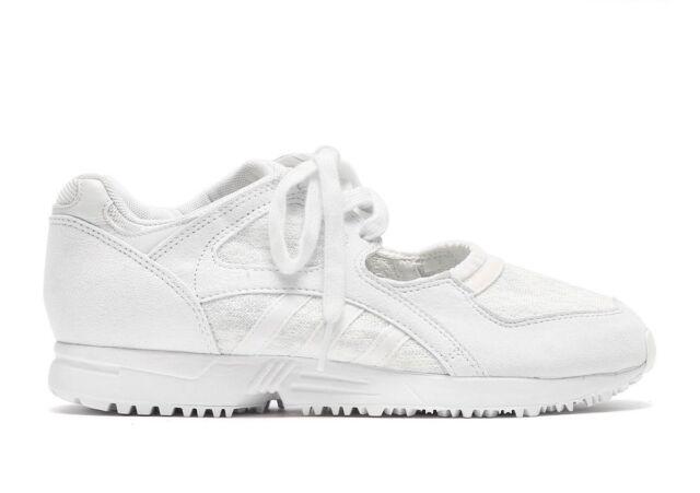 sports shoes 42ab3 1b70d Womens Adidas Originals EQT Racing 91 BA7556 White Ladies Textile Trainers