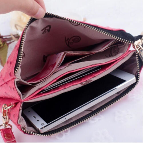 PBE Purse Bag Apple iPhone//Galaxy S//Smart Phone Case Card Coin wallet
