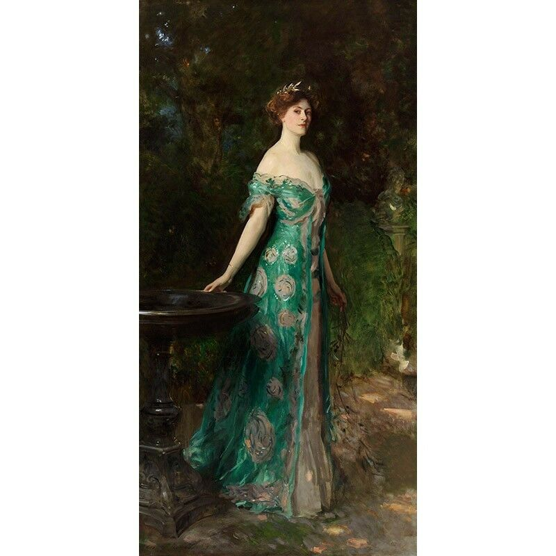 Quadro su Pannello in Legno MDF John John John Singer Sargent Portrait of the Duchess of S | La Fabrication Habile