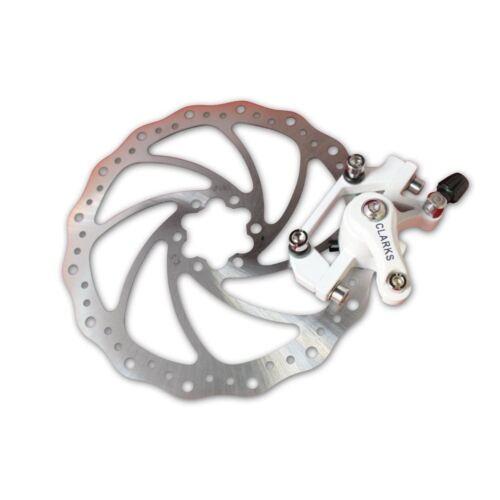 Clarks CMD-8 Mechanical MTB Hyrid Bike Rear Disc brake /& 180mm Lightweight Rotor