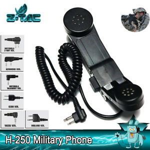 Details about Z Tactical Military Handheld Radio Phone zH-250 Combat on