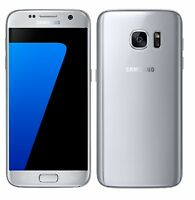 Samsung Galaxy S7 SM-G930 - 32GB - Silver Titanium (Unlocked) Smartphone Cellular Phones